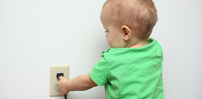 Baby and outlet